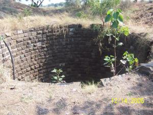 Owned by orphanage, the water supply source for crops.
