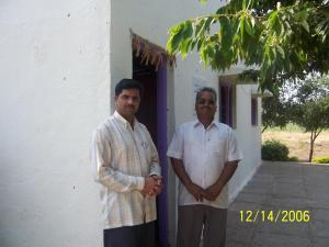 Orphanage Manager Prakash Sapkal